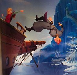 Hans overboard
