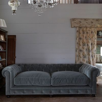 Rachel Ashwell Shabby Chic Couture Chesterfield Sofa With Images