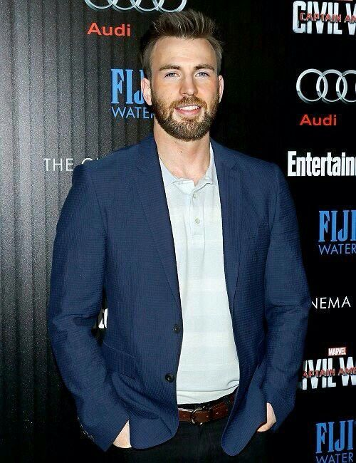 Chris Evans | So cute! -B.R.