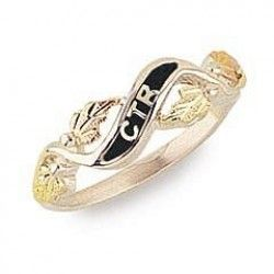 Ladies Sterling Silver And Bhg Ctr Ring Like My Ring But Instead Of