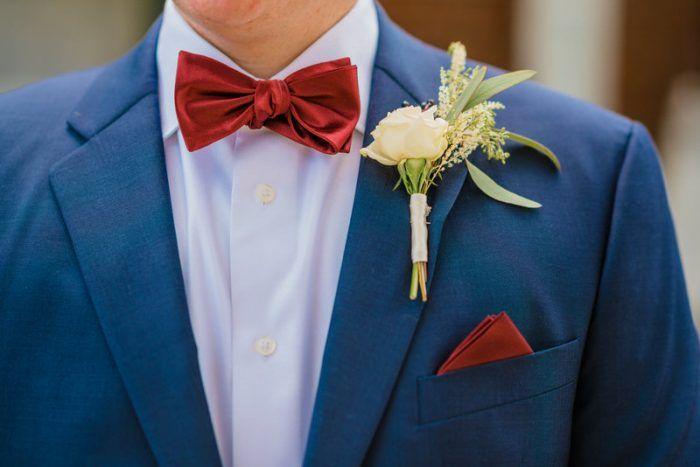 Rural Rustic Northern Virginia Wedding Boutonnieres