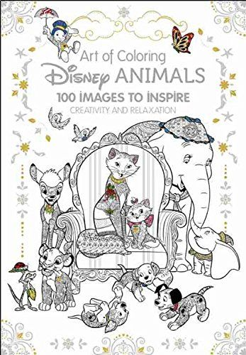 Cover For New Disney Animals Coloring Book Revealed Disney