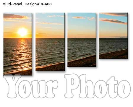Custom 3 Piece Canvas Wall Art Customizable Just For You Split Your Landscape Photo On Tree Panel Personalized Canvas Wall Art Wall Canvas Canvas Wall Art Set