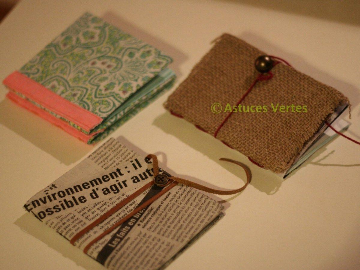 fabriquer un petit carnet personnalis activit reusable tote bags bags et burlap. Black Bedroom Furniture Sets. Home Design Ideas