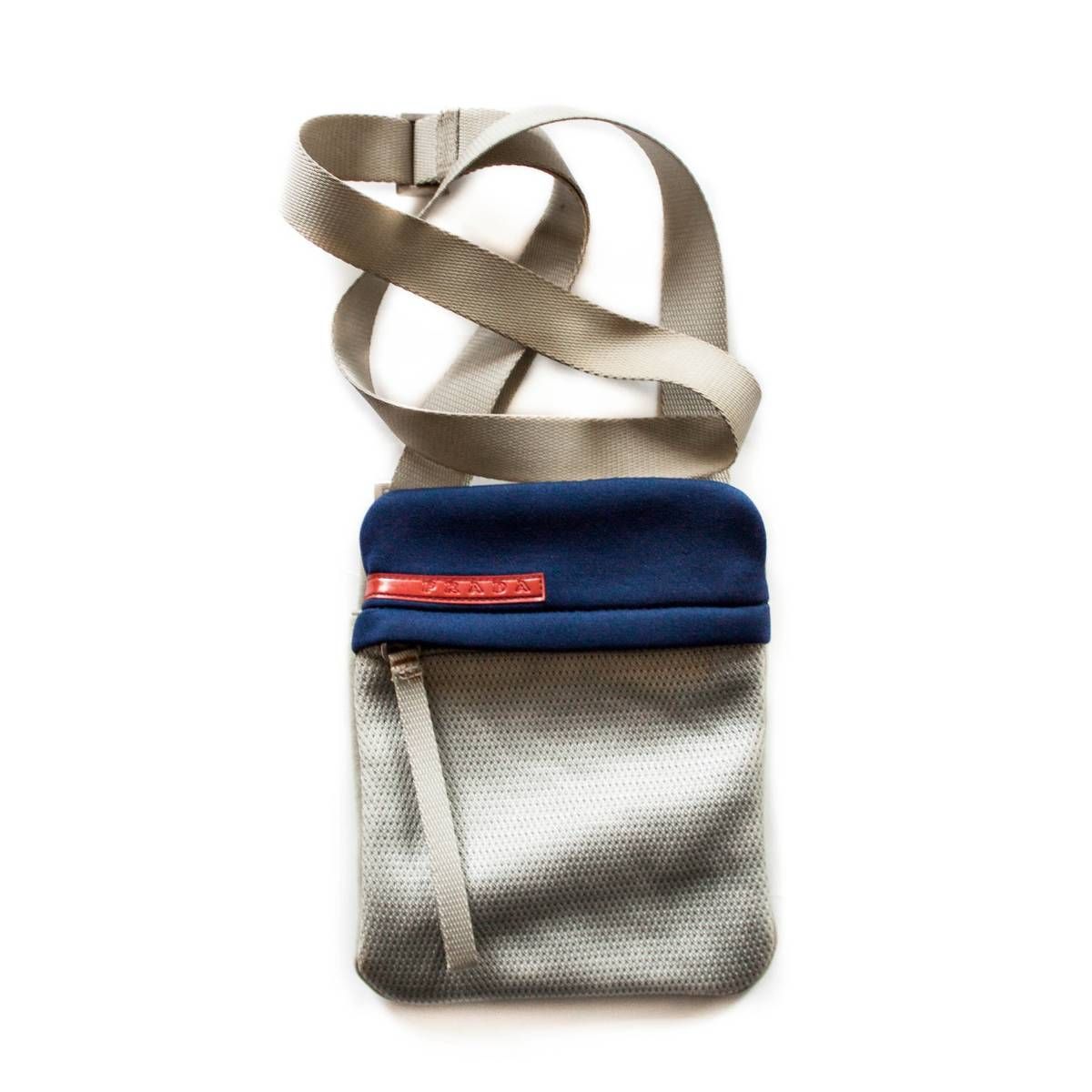 8df94c4450fc Buy Prada Sport Shoulder Bag, Size: ONE SIZE, Description: Item Prada Sport  Shoulder Bag Color Beige/Blue Condition 8/10 - some sunburn right under the  ...