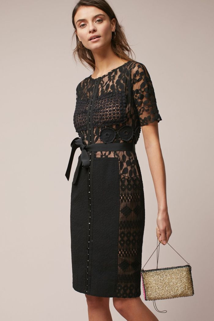Vestido negro para ir boda