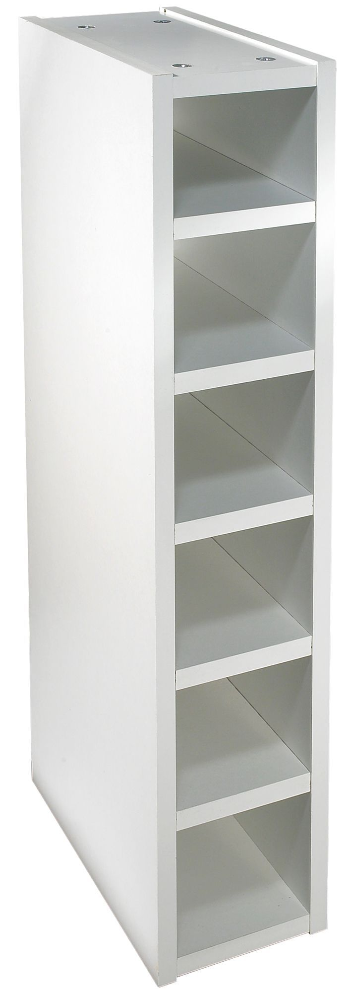 It Kitchens White Classic Style Wine Rack Cabinet W 150mm