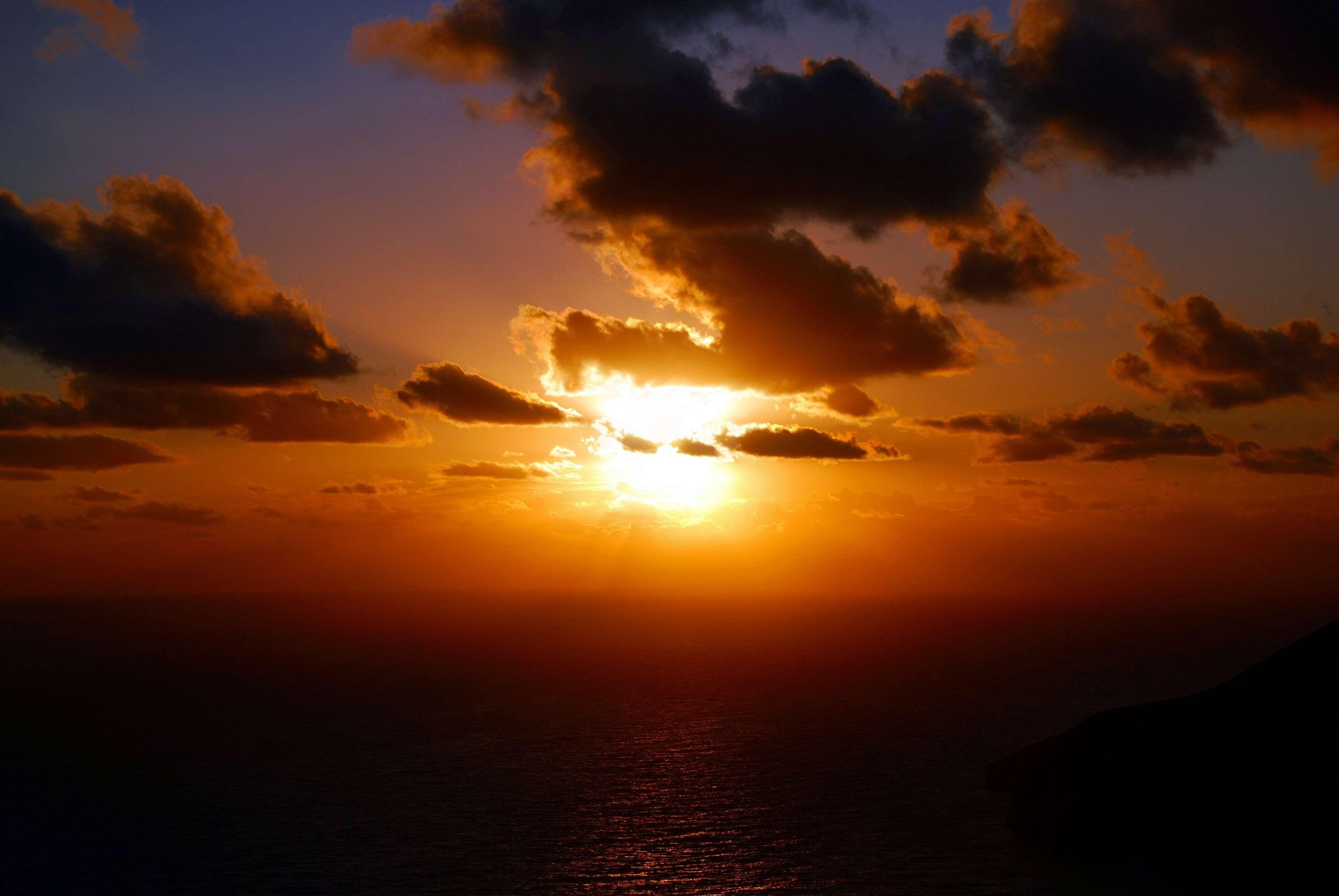 Clouds Dawn Dusk Ocean Sea Sun Sunrise Sunset Water Royalty Free Images Sunset Clouds Landscape Photos
