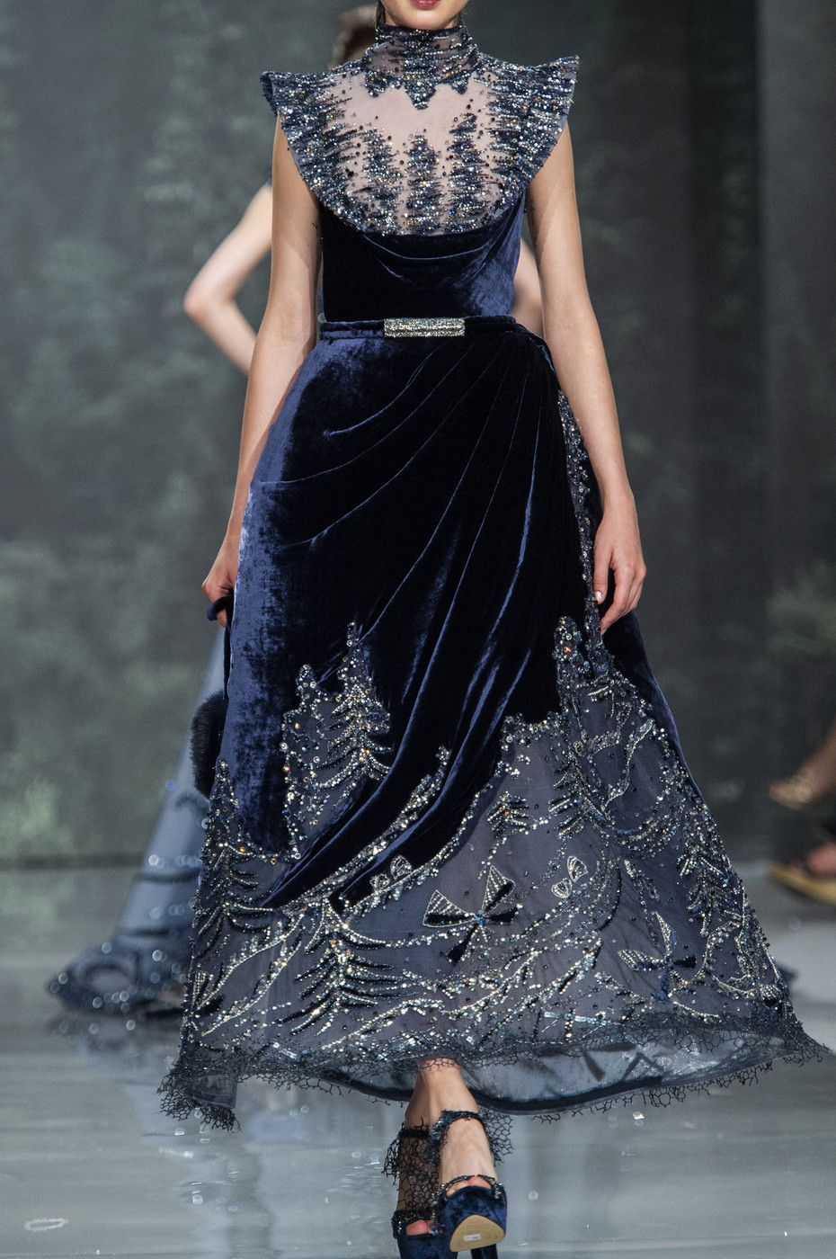 Ziad nakad couture fall itus all about the details in
