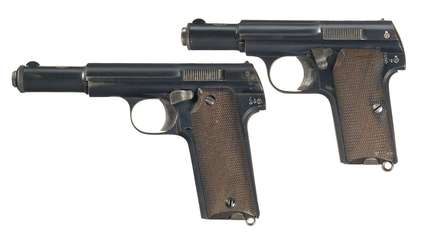 Spp 1 underwater pistol - These Are Two Scarce World War Ii Era German Proofed Spanish Made Astra