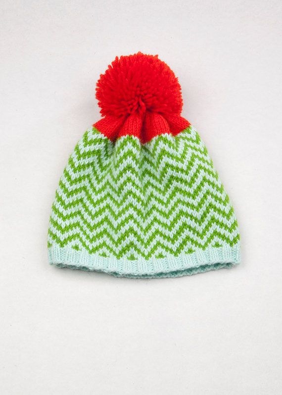 Patterned Pom Pom Beanie  f971870e532