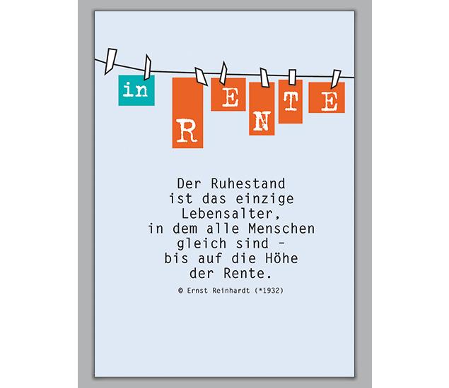 In Rente Die Grusskarte Zum Ruhestand Grusskarten Onlineshop 1agrusskarten De Ruhestand Wunsche Zum Ruhestand Spruche Zum Ruhestand