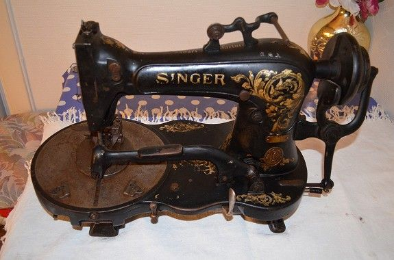 Symaskin Sewing Machine Antique Sewing Machines Industrial Sewing Machine