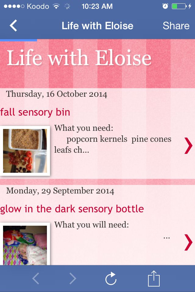 Fall sensory bin blog post