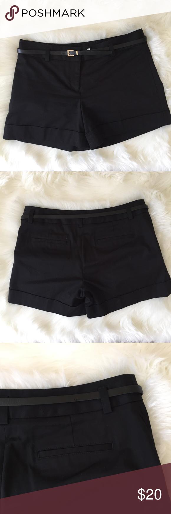 Express Women S Dress Shorts With Belt Dress For Short Women Short Dresses Womens Dresses [ 1740 x 580 Pixel ]