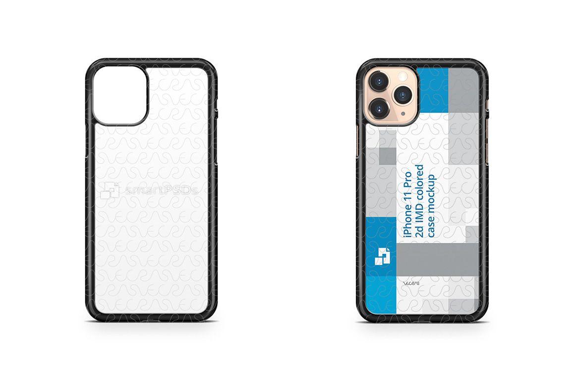 Download Iphone 11 Pro 2019 2d Pc Colored Case Design Mockup Iphone Mockup Design Iphone 11