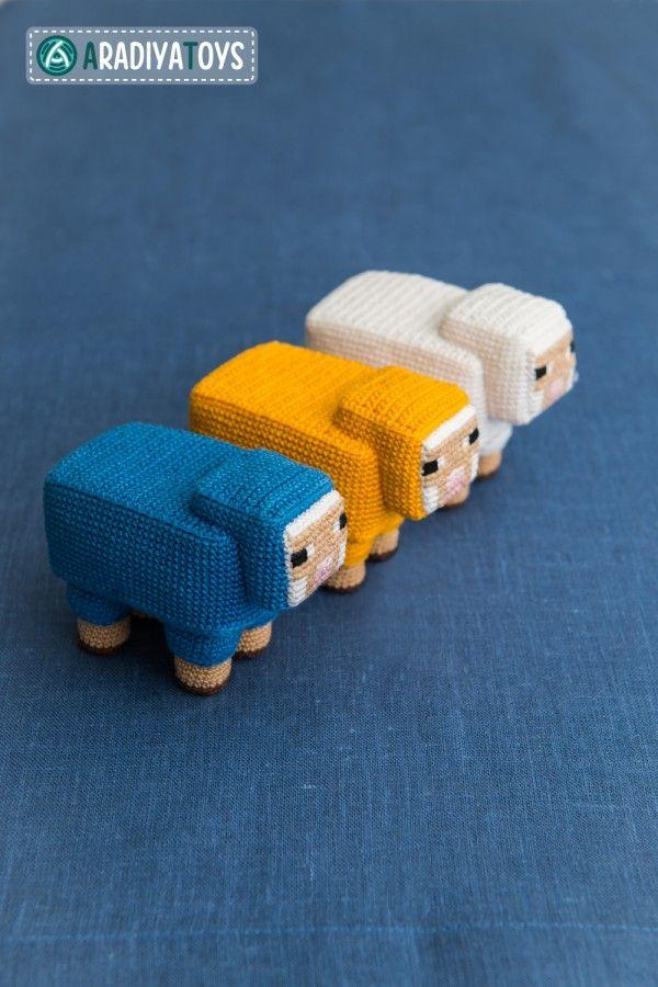 Minecraft #crochet dolls by DeviantArt\'s AradiyaToys | crochet ...