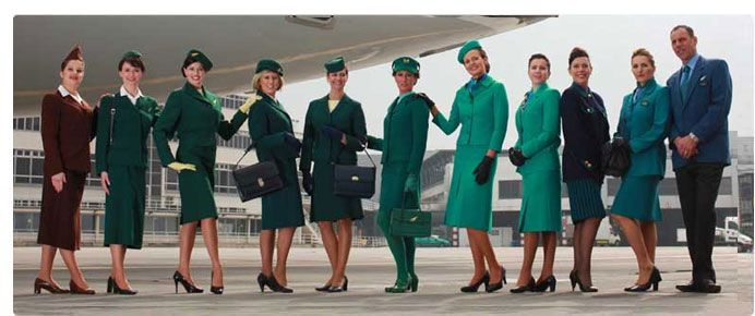 aer lingus irish airlines celebrated 75 years of flying