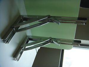 Set Of 4 Heavy Duty Stainless Steel Marine Boat Folding Table Bracket 11 Ebay