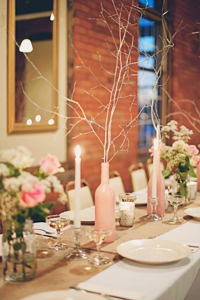 A winter wedding in watertown new york diy tablescape