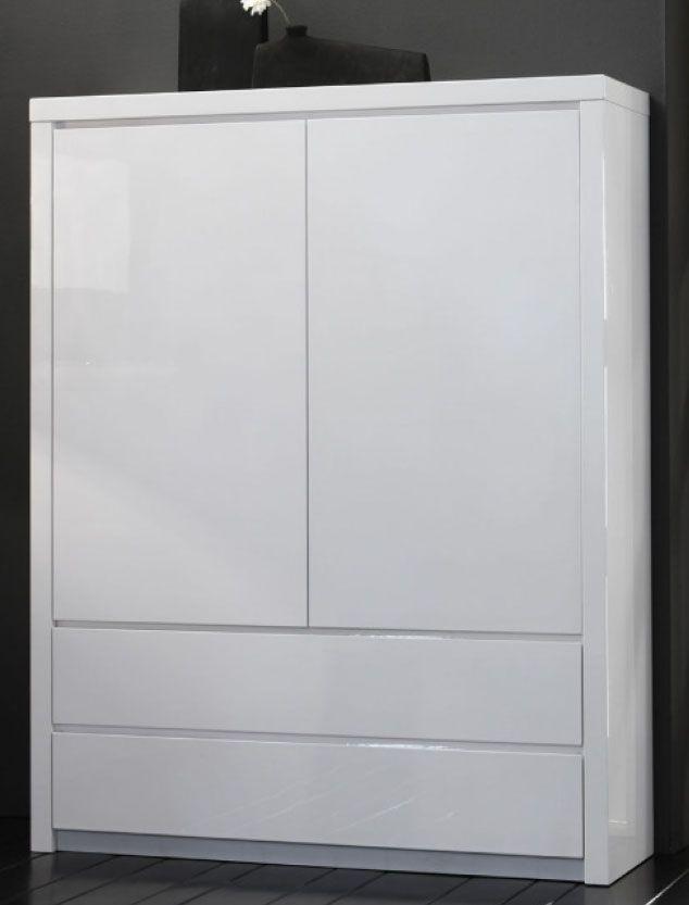 Büroschrank weiß schubladen  Nett highboard als kleiderschrank | Garderobe | Pinterest ...