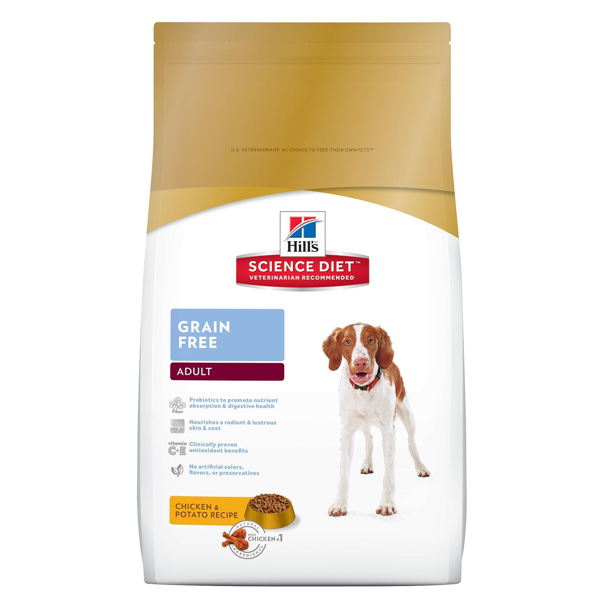Hill S Science Diet Grain Free Adult Dog Food Chicken And Potato