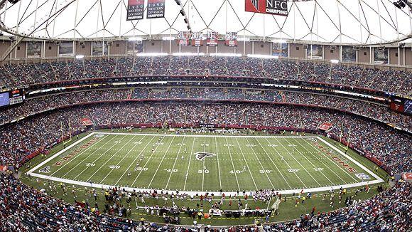 Bands Of America Georgia Dome Georgia Dome Atlanta Falcons Stadium Atlanta Falcons Football