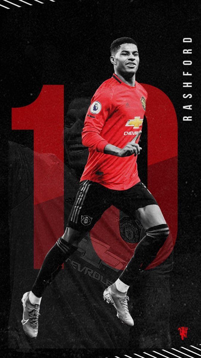 Rashford Wallpaper In 2020 Manchester United Wallpaper Manchester United Logo Manchester United Poster