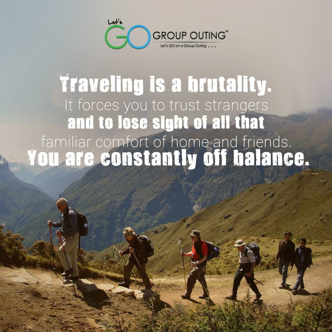 #Travelling is not all glory and excitement. Travelling is ...