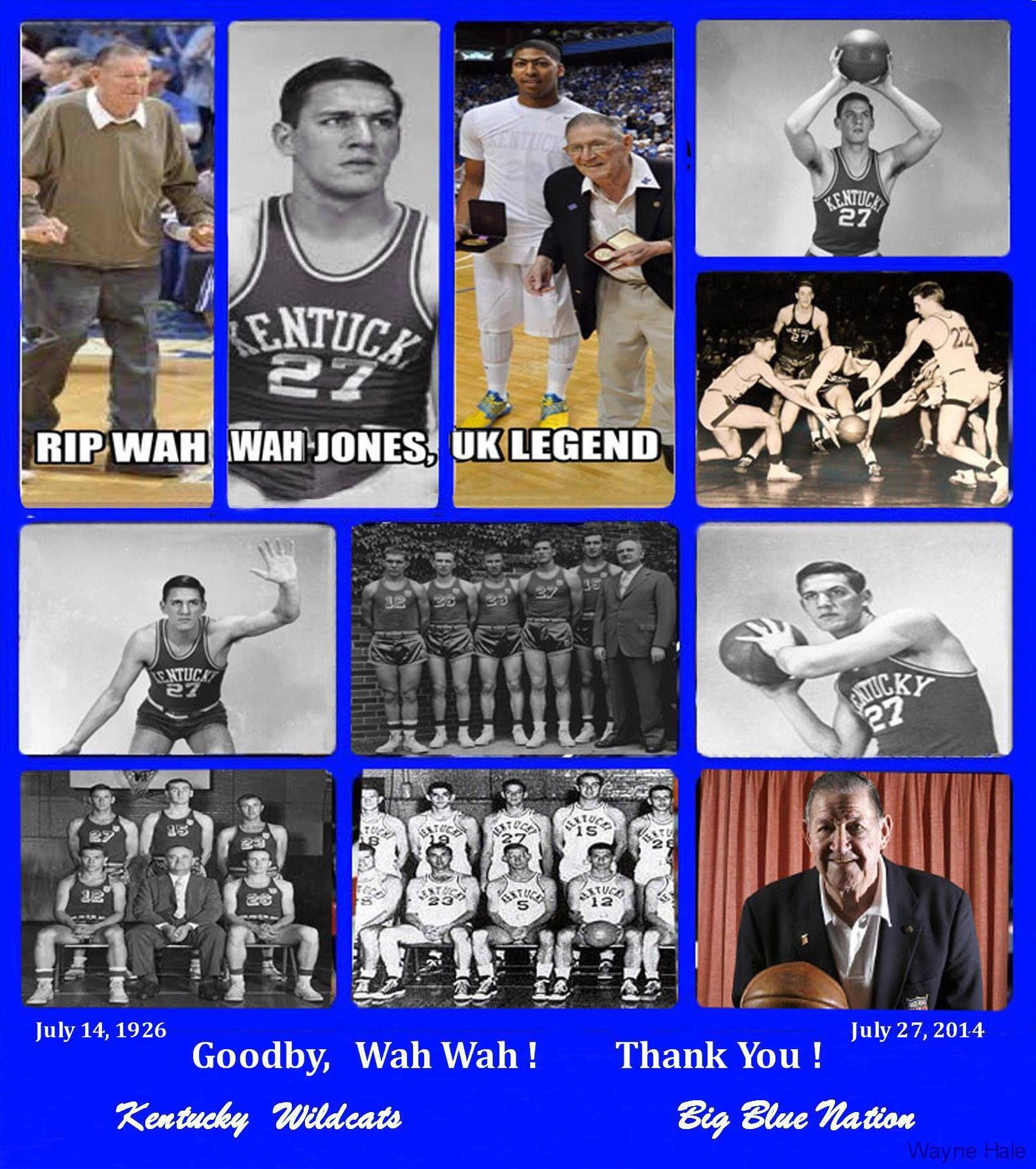 Wah Wah Jones Kentucky athletics, Big blue nation