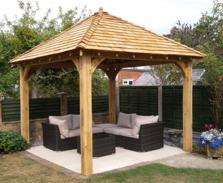 Wooden Gazebo Outdoor Spaces