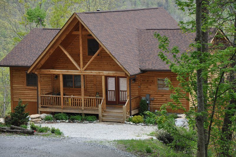 Peace Of The Mountain Cabin In Bryson City Nc Hot Tub Outdoor Cabin City Vacation