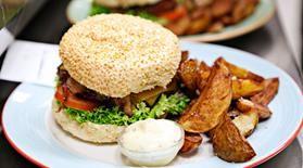 Haché Gourmet Burgers à Copenhague est juste un des nombreux restaurants de hamburgers dans la ville.