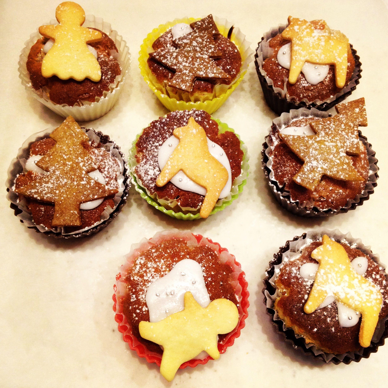 Christmas Tree Muffins: I Baked Christmas Cupcakes: Dahlahäst, Christmas Tree
