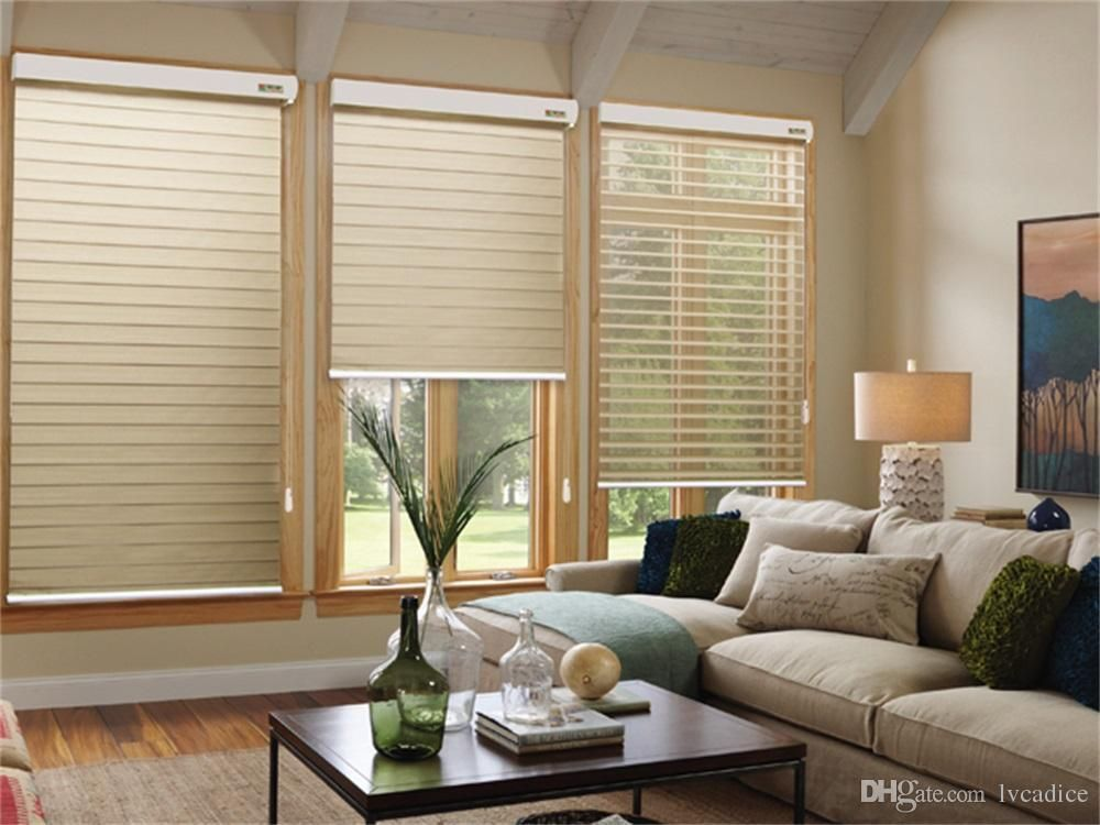 There Are Different Sorts Of Window Blinds Each Type Will Offer You Different Fellings Zebra Blinds Sh White Wooden Blinds Curtains With Blinds House Blinds
