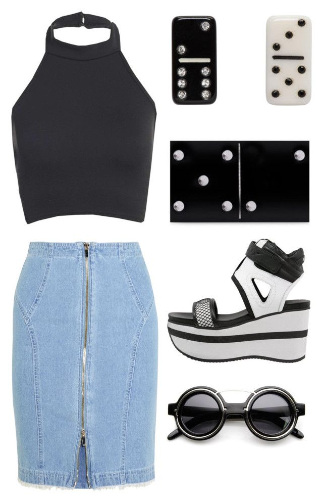 """""""Untitled #1329"""" by campbell765 ❤ liked on Polyvore featuring Marc Jacobs, Steve J & Yoni P, Charlotte Olympia, DKNY and ZeroUV"""