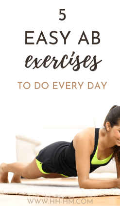 5 Ab Exercises To Do Every Day For Results - Her Highness, Hungry Me