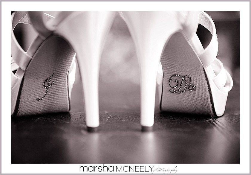 Amazing wedding details - wedding shoes Click here to see more: http://marshamcneely.com/weddings/buena-park-wedding-photographer/  Buena Park Wedding Photographer