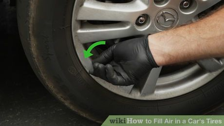 How To Fill Air In A Car S Tires 12 Steps With Pictures Car Tires Pumping Car Car Hacks