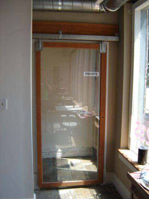Glass Sliding Loft Door At Conference Loft Door Loft Doors