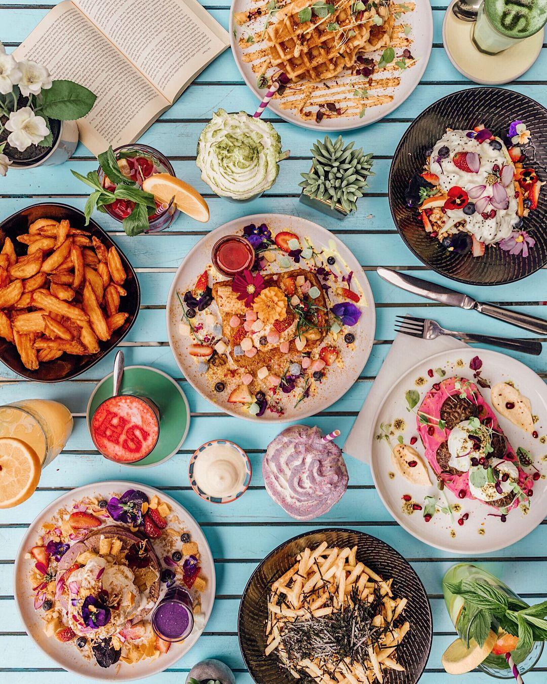 Social Hideout Sydney Australia Aesthetic Food Brunch Food