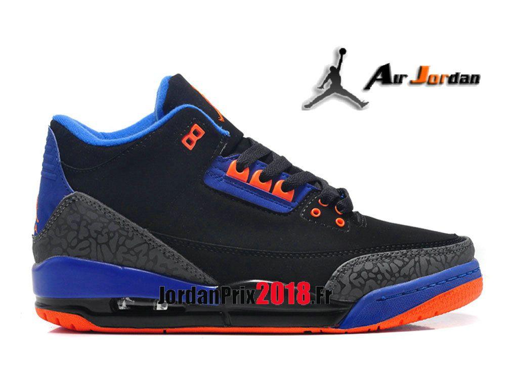 Basket Retro Air Pour Gs Chaussure Femme Prix Noir Jordan 3 OwRxqTZ7