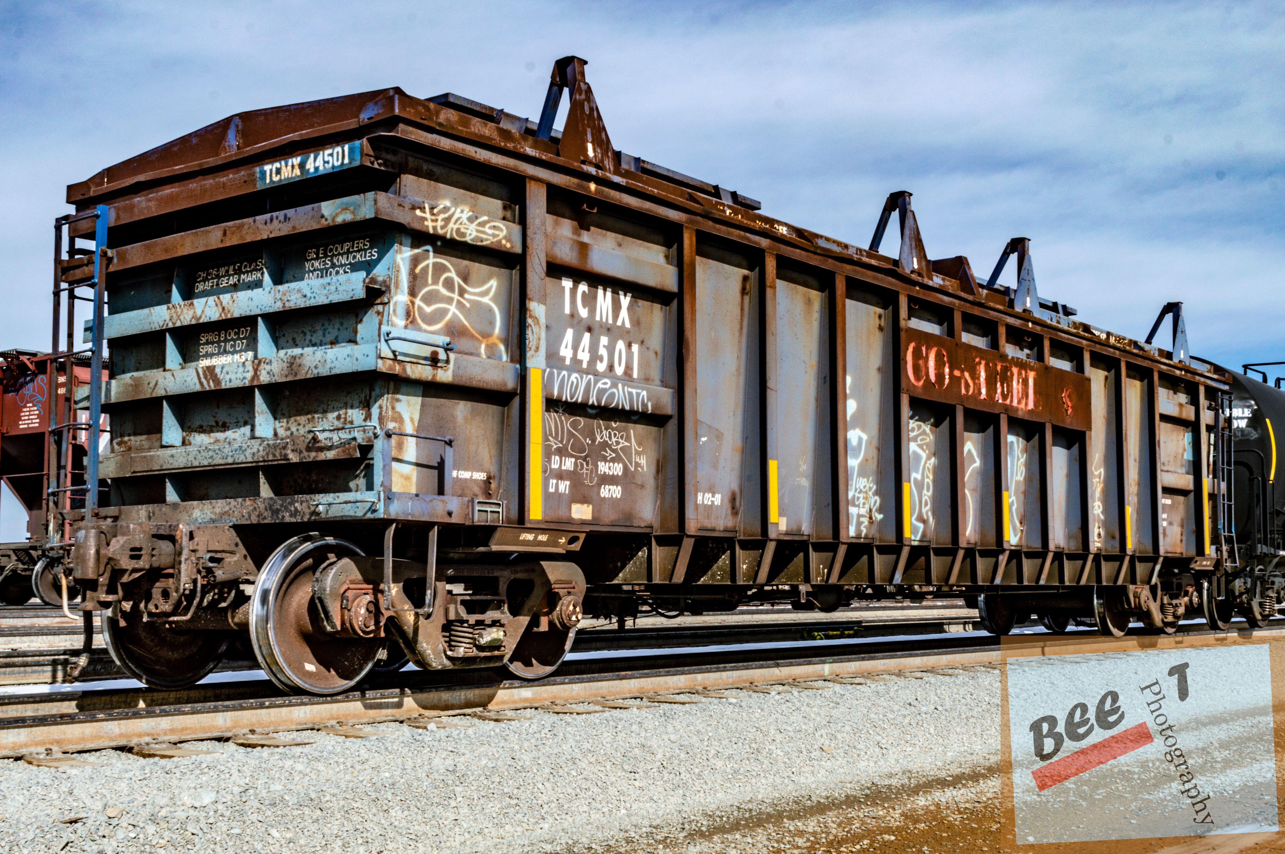 Rusty Coil Train Car Ho Model Trains Train Train Car