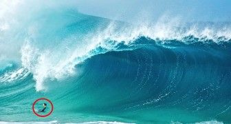 This Man Shows The World What Enormous Waves Look Like From The Inside Out