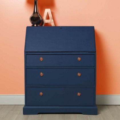 Rust Oleum Chalky Furniture Paint Ink, Navy Blue Furniture Paint