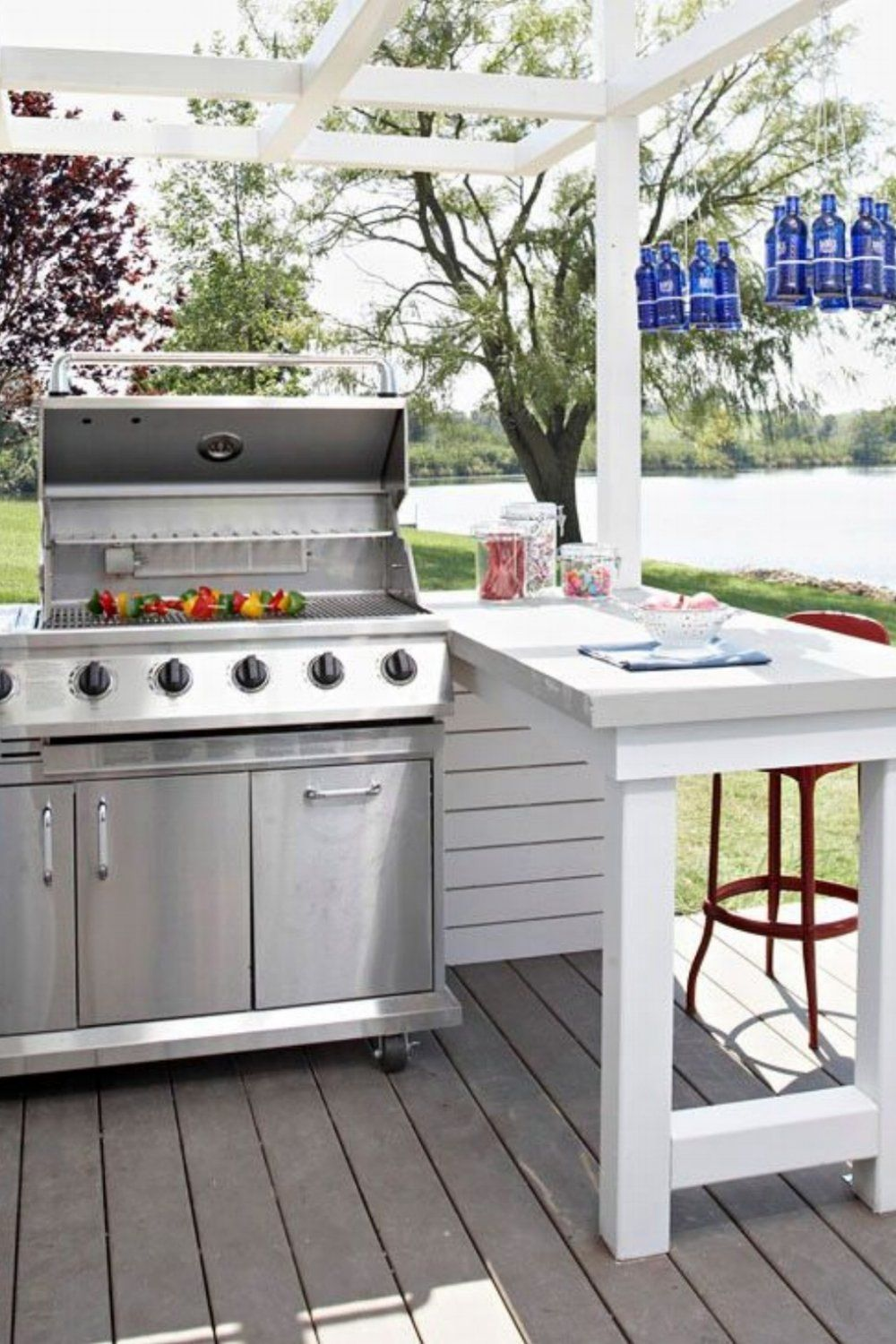 30 gorgeous outdoor kitchens with images simple outdoor kitchen outdoor kitchen outdoor on outdoor kitchen easy id=69229