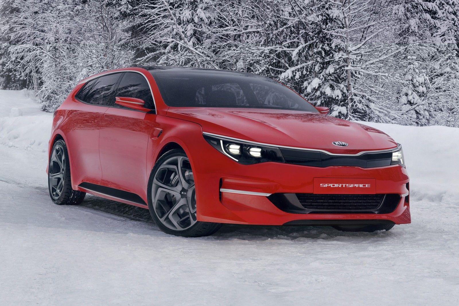 Kia Sportspace Concept Kia Motors Kia Optima Kia