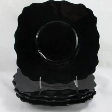 black depression glass