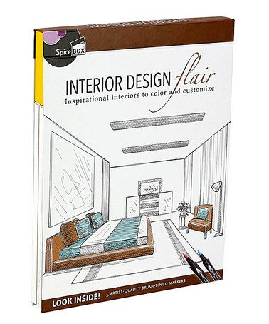 Art Therapy Interior Design Kit #zulily #zulilyfinds Coloring