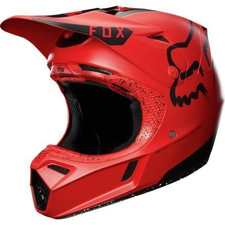 BLACK PINK enduro bike mtb bmx FOX V1 GRAV MOTOCROSS MX HELMET